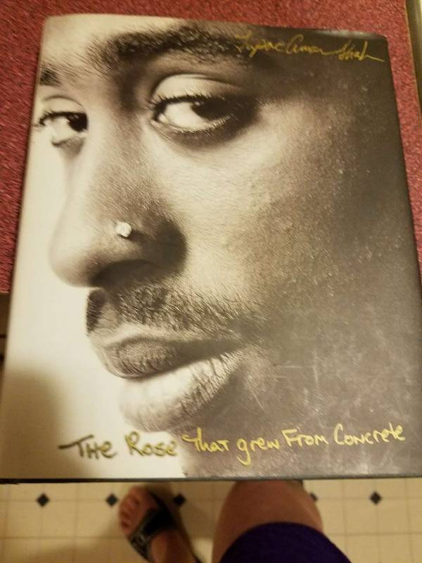 Used tupac shakur a rose that grew from concrete for sale ...