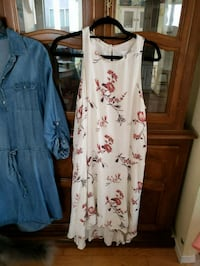 white and red floral sleeveless dress Manteca, 95336
