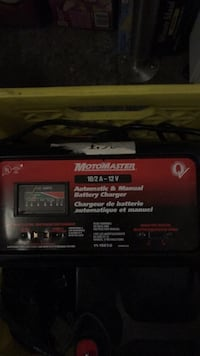 Motomaster 10/2a-12v automatic& manual battery charger Coquitlam, V3C 2K7