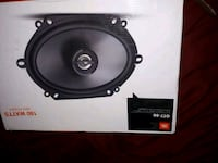 black and gray subwoofer speaker Winnipeg, R3C 1G7