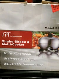 Shabu Shabu and Multi Cooker