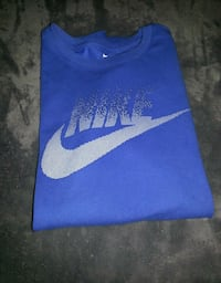 blue and white Nike textile 3138 km
