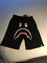 Black bape shorts 100% Authentic  Vancouver, V6J 2S1