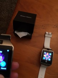 2 android smart watches. Brand new white w/ silver and black w/ silver Ballston Spa, 12020