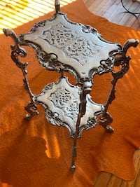 Antique Pewter table ,