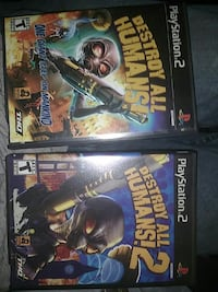 Ps2 Destroy All Humans 1 and 2 Glen Burnie