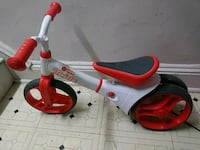 toddler's white and red Radio Flyer trike Owings Mills, 21117