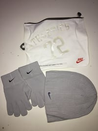 Nike hat gloves set 7-12 Y