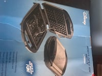 Disney black and gray waffle maker box Augusta, 30906