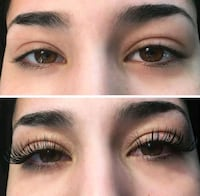 women's black false eyelashes Mississauga, L5K 2C8