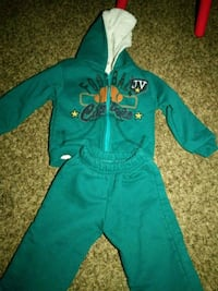 blue and green zip-up hoodie and pants Merced, 95348