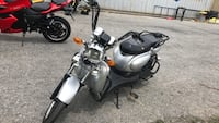 gray and black touring motorcycle Kingston, K7P