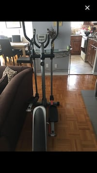 Black and gray elliptical trainer screenshot Laval, H7W 2S7