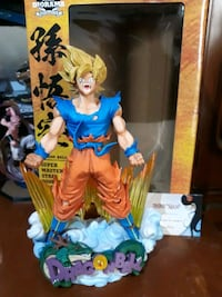 Figura Goku The Brush Anime Dragon Ball