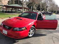 MUSTANG CONVERTIBLE WITH LOW MILES!!
