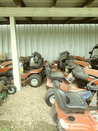 new ridering mowers 46 inch and 42