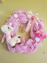 It's A Girl Wreath  Columbus, 78934
