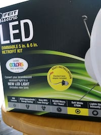 LED 5 & 6 in. Retrofit Kit (3), Brand-New Centreville