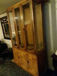 Wood and glass cabinet  Tucson, 85713