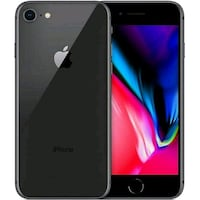 iPhone 8  (64gb $400 256gb $450)