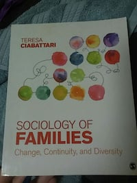 Sociology of Families textbook by Teresa C.