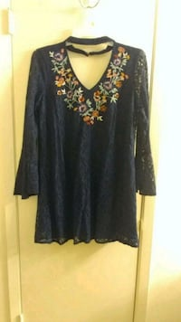Never worn Navy Blue Xhilaration dress