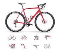 red and black road bike Springfield, 22150