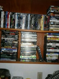 assorted DVD movie case lot Lubbock, 79416