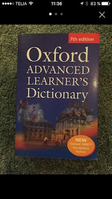 Oxford Avancerad Learners Dictionary