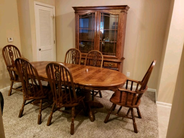 Formal Dining Room Set With China Cabinets Usag Vendre