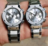 two round silver-colored analog watches McLean, 22101