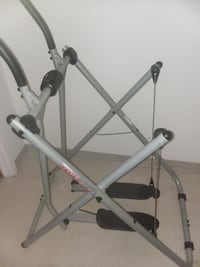 Gray/black Elliptical. Folds up easy to store  Topsfield