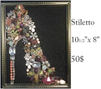 jewelry mosaic art 100% recycled materials Edmonton, T5J 4C3