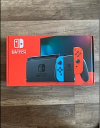 Red/Blue Nintendo Switch V2 NEW *PRICE IS FIRM*