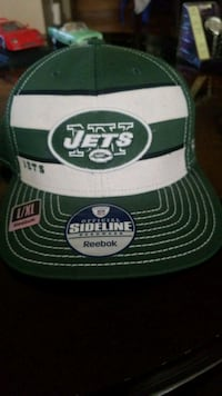white and green Oakland Raiders cap Hamilton, L8V 2J7