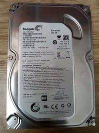 Seagate Barracuda 250 GB Harddisk