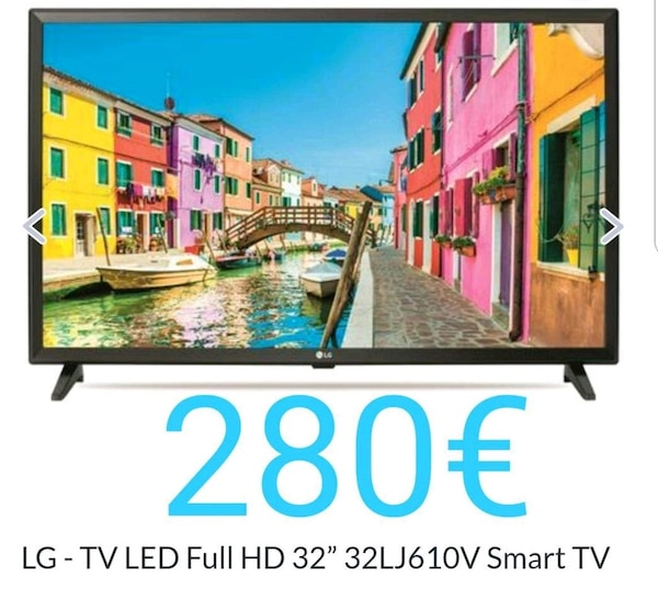 "Tv LG 32"" SMART FULL HD"
