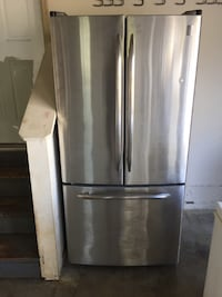 GE Profile Refrigerator Stainless Steel null