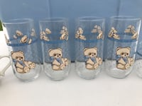 Adorable Bear drinking Glasses from Finger Hut Gainesville, 20155