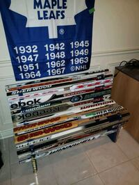 hand crafted hockey stick bench   beautiful for any hockey lover  Vaughan, L4L 8J6