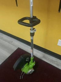 GREENWORKS WEED TRIMMER- ELECTRIC