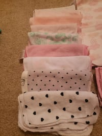 45Baby bath towels,9burping rags, 10wraping new born blankets  Oklahoma City, 73128