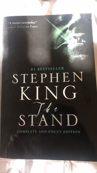 """FOR ALL MY BOOK LOVERS HERE'S STEPHEN KING """"THE STAND"""" Forest Park"""