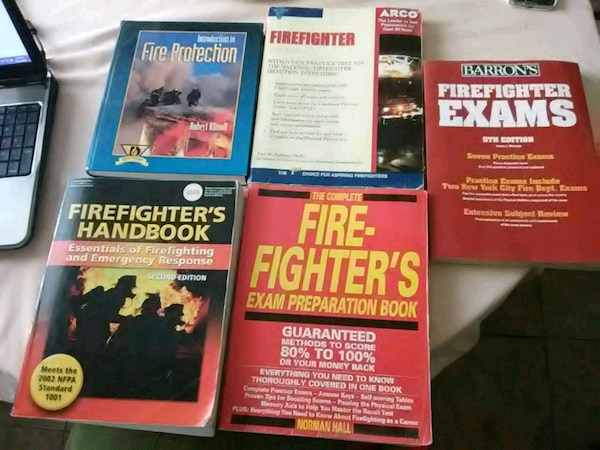 Fire Protection and Firefighter Exam Prep Books