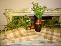 FIRM PRICE * NEW 4pc French Country Placemats & Vintage Pitcher with Greenery  Oklahoma City, 73012