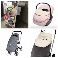 New, unused.. car seat and stroller covers  St Thomas, N5R 6M6