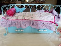 Americn Girl Trundel Bed and Pajamas Westminster