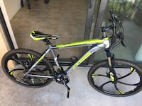 Finiss Passion Large Hardtail Mountain Bicycle with Shimano Gear 19 inch Frame Miami