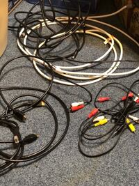 Assorted Electronics Cables