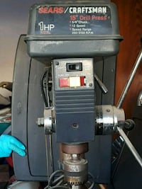 "Sears craftsman 15 "" drill press. Merced, 95341"